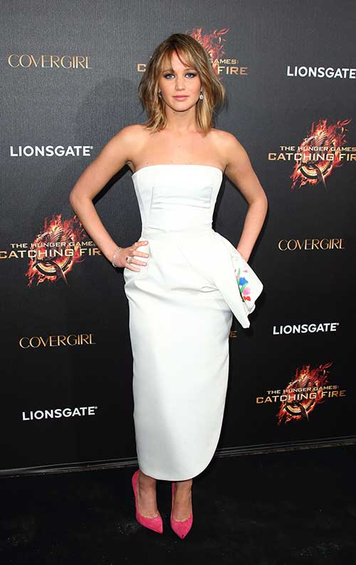 Jennifer Lawrence Gorgeous Short Haircuts