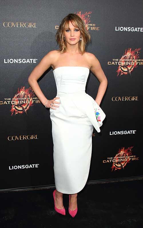 Jennifer Lawrence Gorgeous Short Haircuts