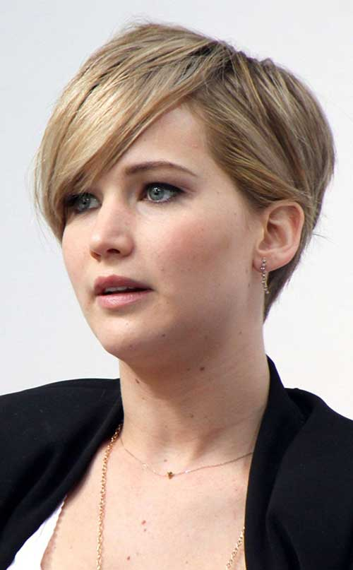 Jennifer Lawrence Nice Pixie Hair Cuts