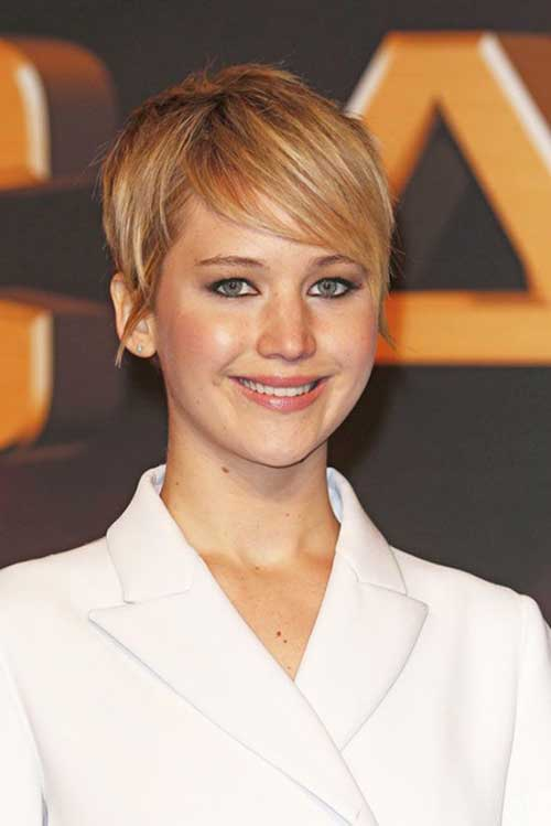 Jennifer Lawrence Short Haircut Ideas