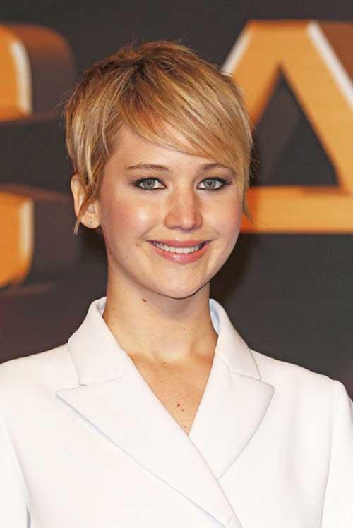 Jennifer Lawrence Short Haircut Ideas