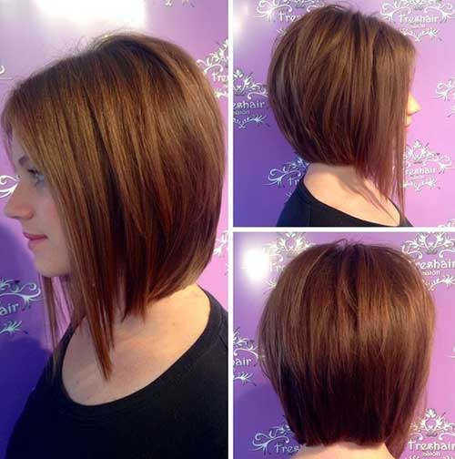 15 Short Layered Haircuts for Round Faces