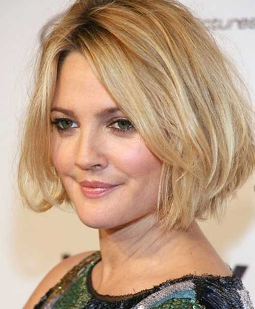 Short Layered Haircuts for Round Fat Faces