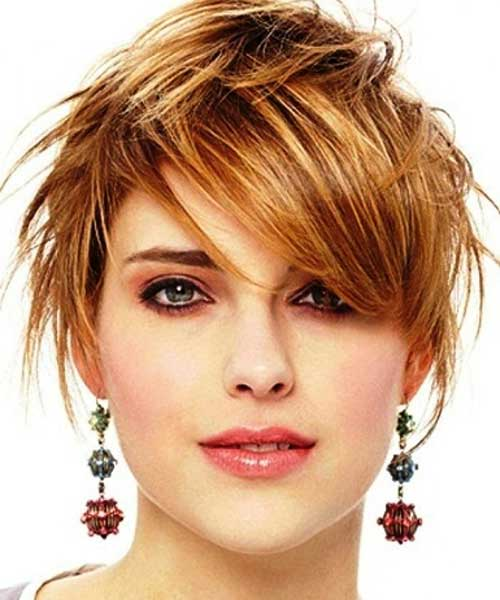 Oval Face Short Hair