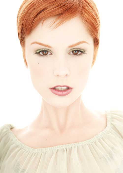 Red Hair Pixie Cut Color Trends