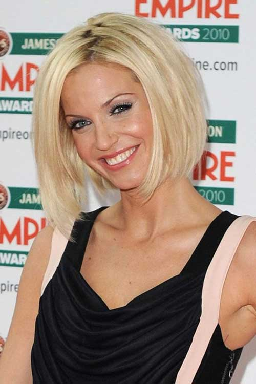Celebrity New Blonde Bob Cuts