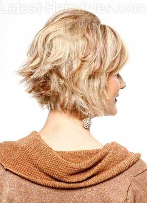Short Blonde Layered Hair Color Trends 2015