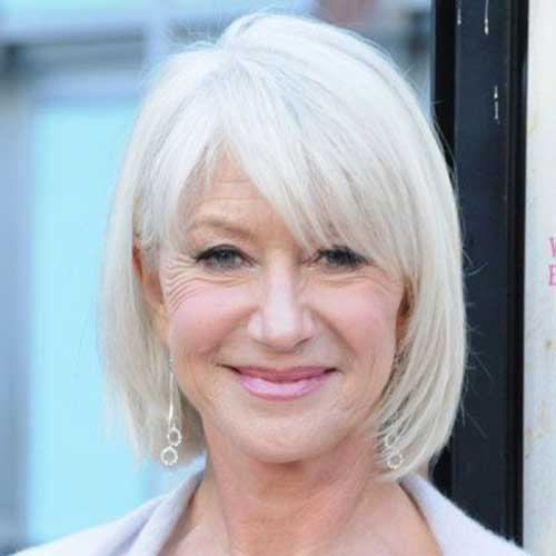 Best Short Bob Hairstyles for Women Over 60