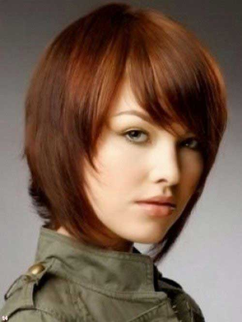 Short Brown Hairstyles Trends 2015