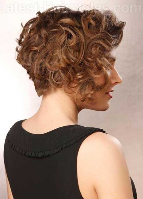 Short Curly Haircuts 2015