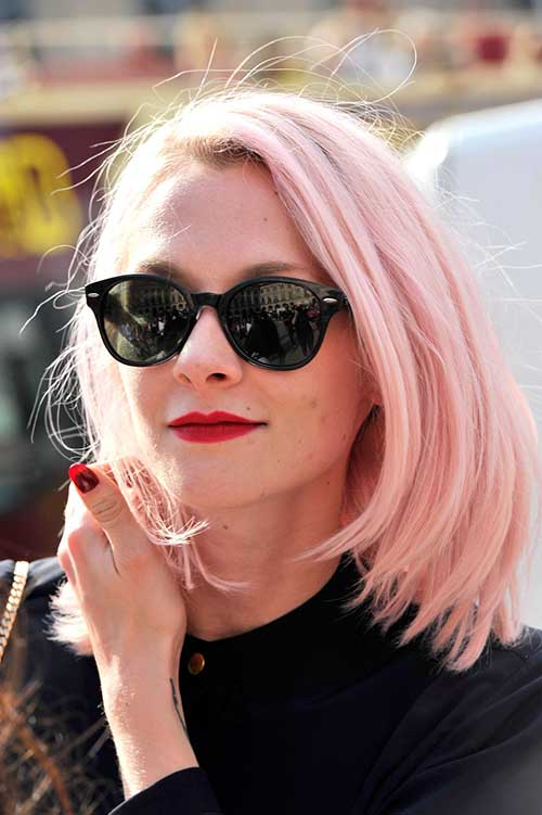 Best Short Hair Color Trends 2015 - 2016