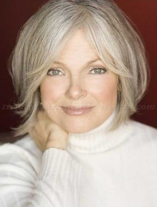Nice Short Hair for Women Over 60