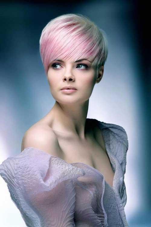 Light Pink Hair Asian