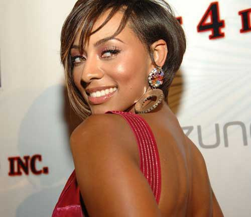Best Short Hairstyles for Black Women with Layered Bangs