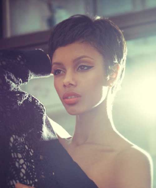 Magnificent Short Hairstyles With Bangs For Black Women Short Hairstyles Short Hairstyles For Black Women Fulllsitofus