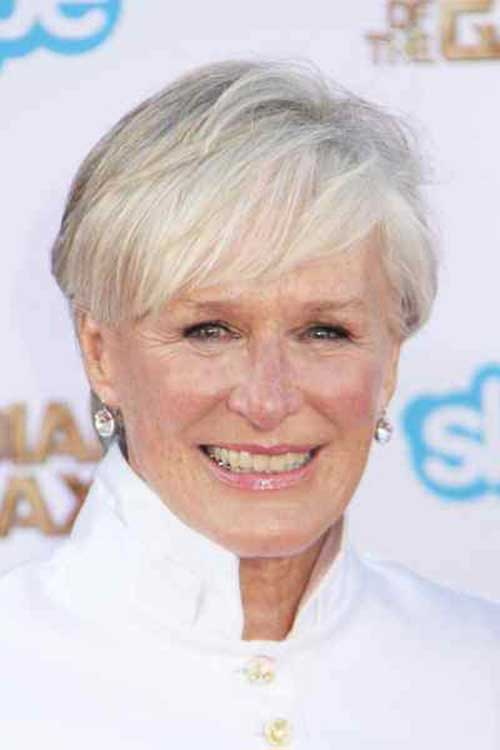 20 Short Haircuts For Over 60