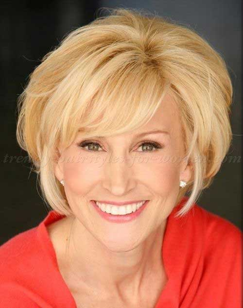 Short Hair Styles For Women Over 50-10