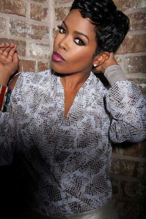 Short Hair Cuts for Black Women-10