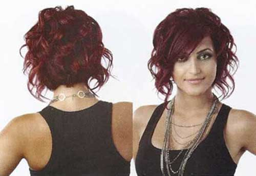 Short Red Curly Hair-10