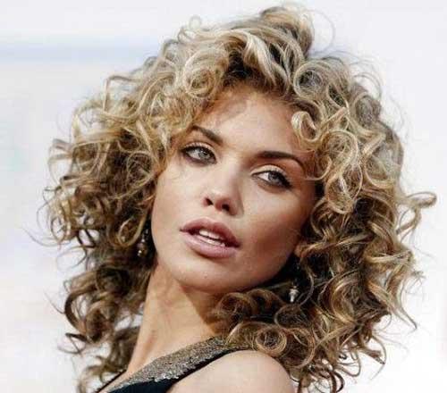 11.Short Haircut for Curly Hair