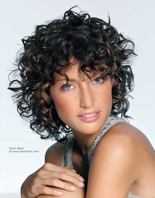 Short Hairstyles for Curly Hair 2015-11