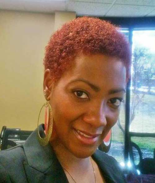 11.Very Short Hairstyle for Black Women