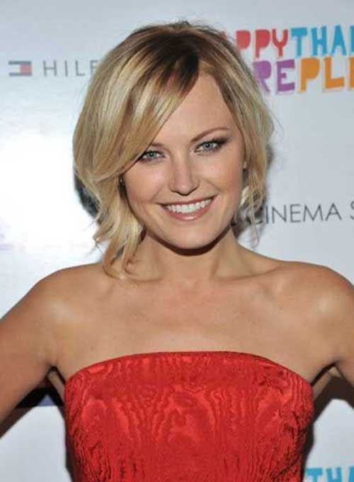 12.Celebrities with Short Hair 2016