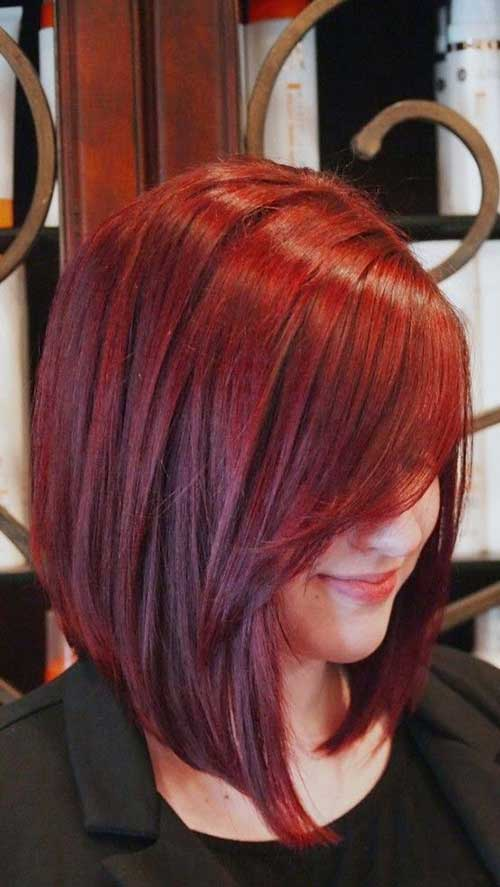 Hair Colors for Short Hair-12