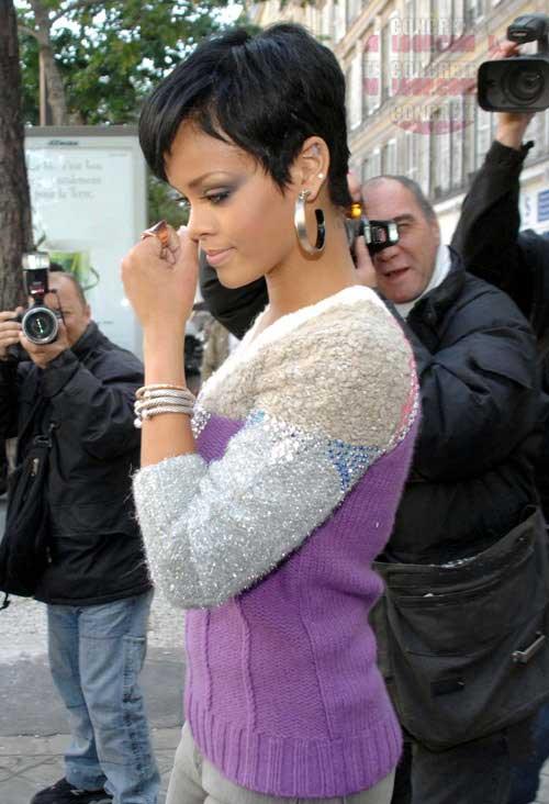 20 Best Rihanna Pixie Cuts Short Hairstyles Amp Haircuts 2017