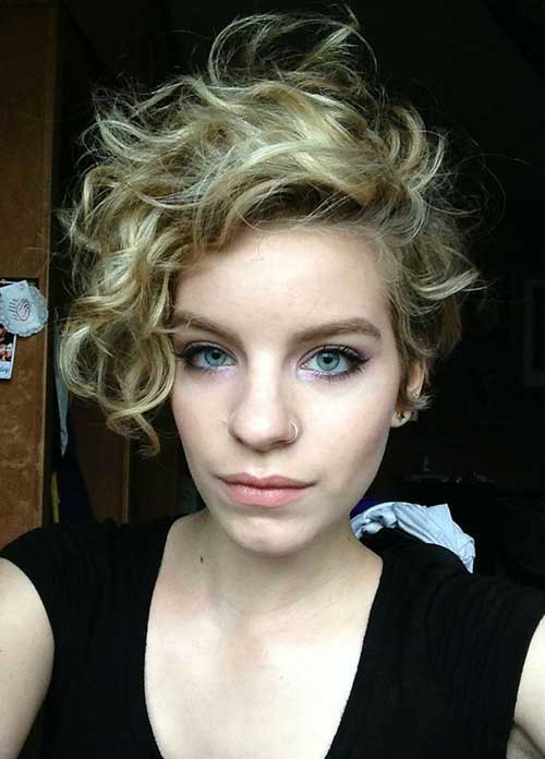 Short Hairstyles for Curly Hair 2015-12