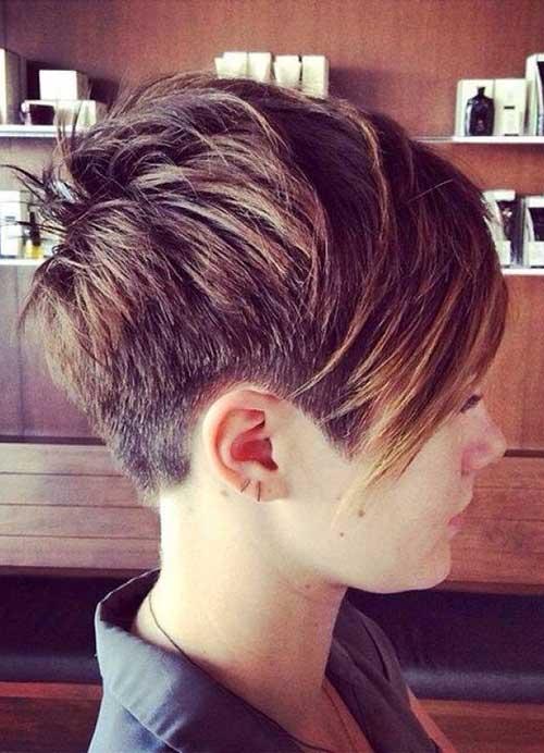 Short Layered Hair Styles-12