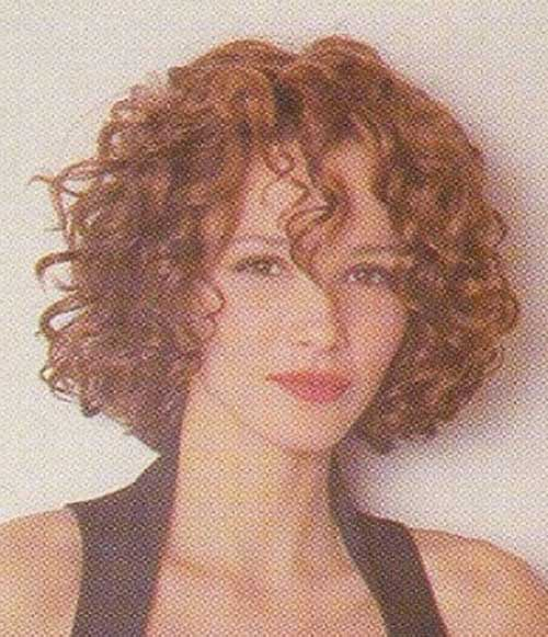 Short Red Curly Hair-12
