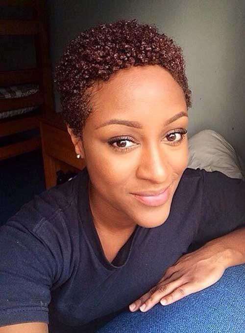 Very Short Hairstyles for Black Women-12