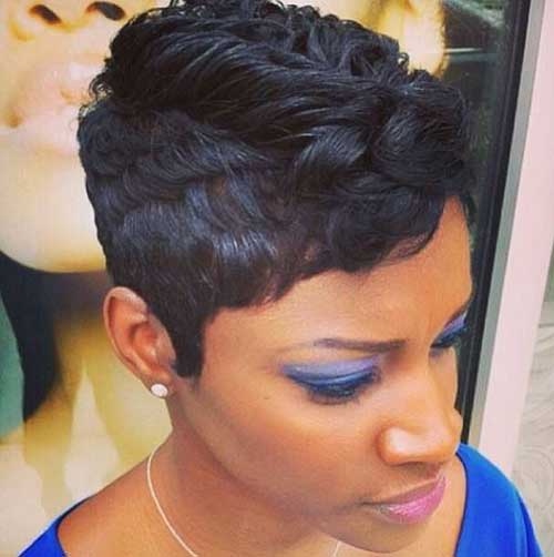 Short Hairstyles for Black Women 2015-13