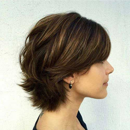 Short Layered Hair Styles-13