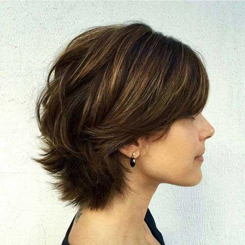 Short Layered Hair Styles-13