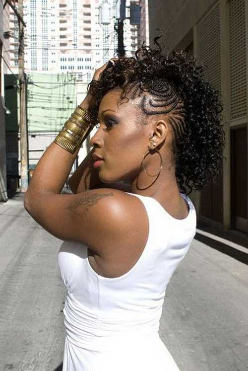 Very Short Hairstyles for Black Women-13