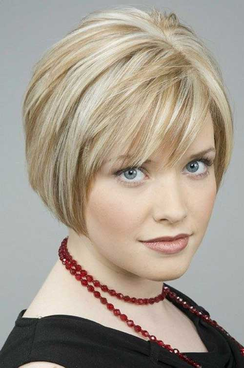 Short Hair Cuts For Women Over 40-14
