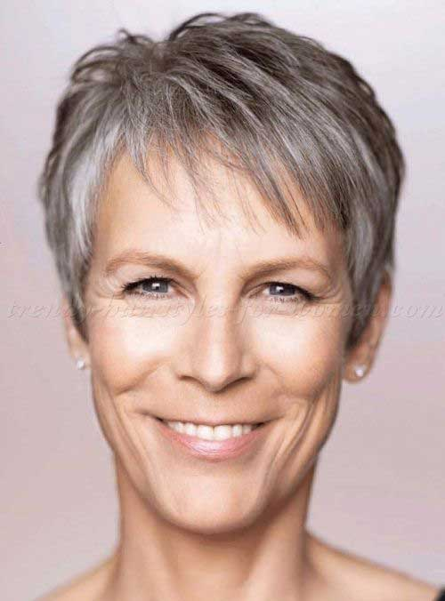 Short Hair Styles For Women Over 50-14