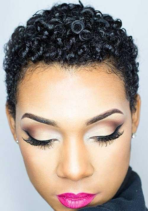 14.Short Hair for Black Women