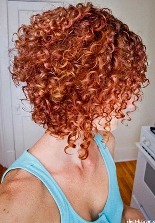 Short Red Curly Hair-15