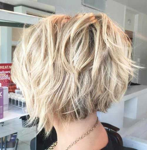 Hair Colors for Short Hair-16