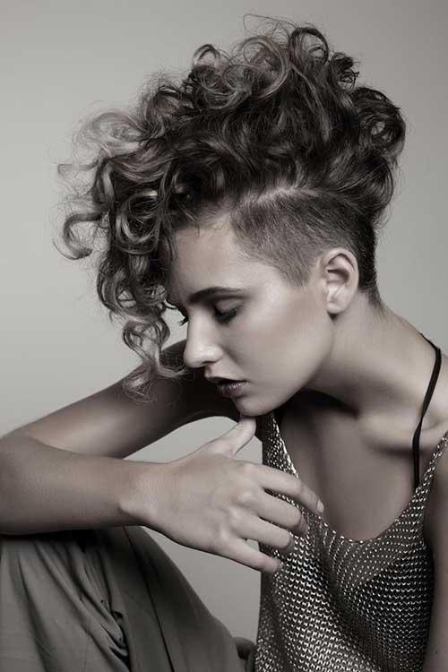 Short Curly Hair for Black Women-16