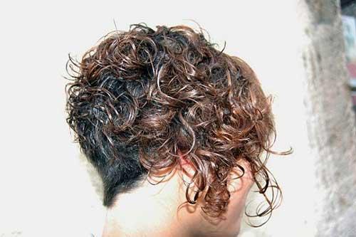 16.Short Haircut for Curly Hair