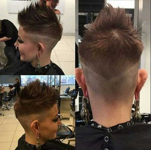 Short Spikey Hair-16