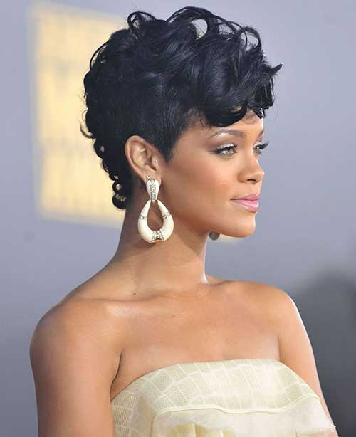 20 Best Rihanna Pixie Cuts Short Hairstyles Amp Haircuts 2018