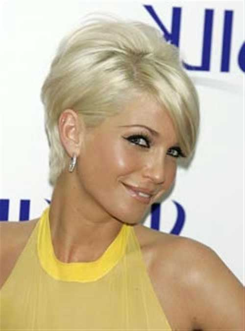Short Hair Cuts For Women Over 40-17