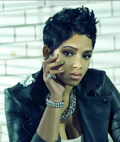 Short Hairstyles for Black Women 2015-17
