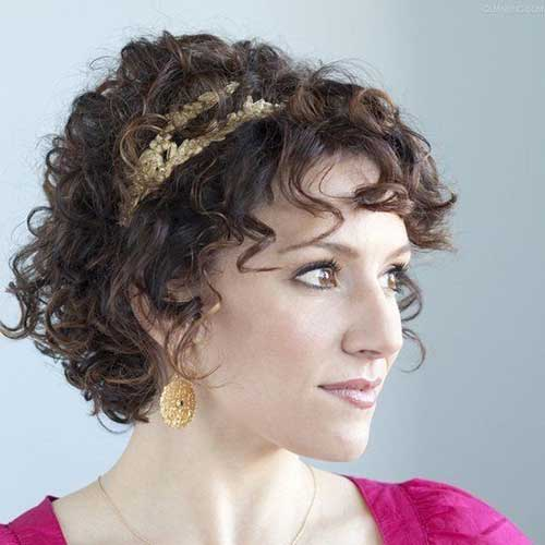 Short Hairstyles for Curly Hair 2015-17