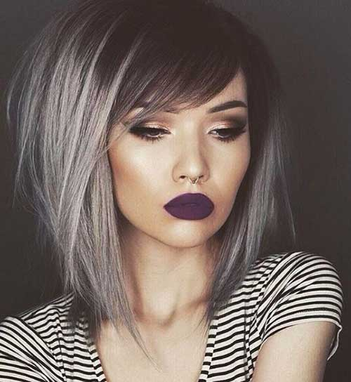 Hair Colors for Short Hair-18